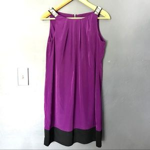 3/$25 Blu Sage dress in purple with metal accents